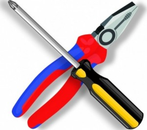 pliers with Screw drivers